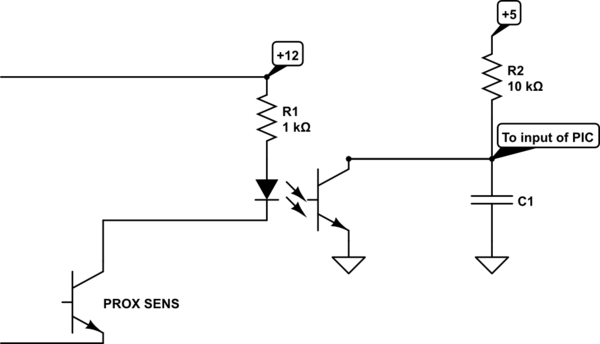 proximity switch circuit