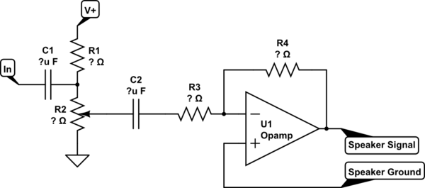 potentiometer electrical schematic