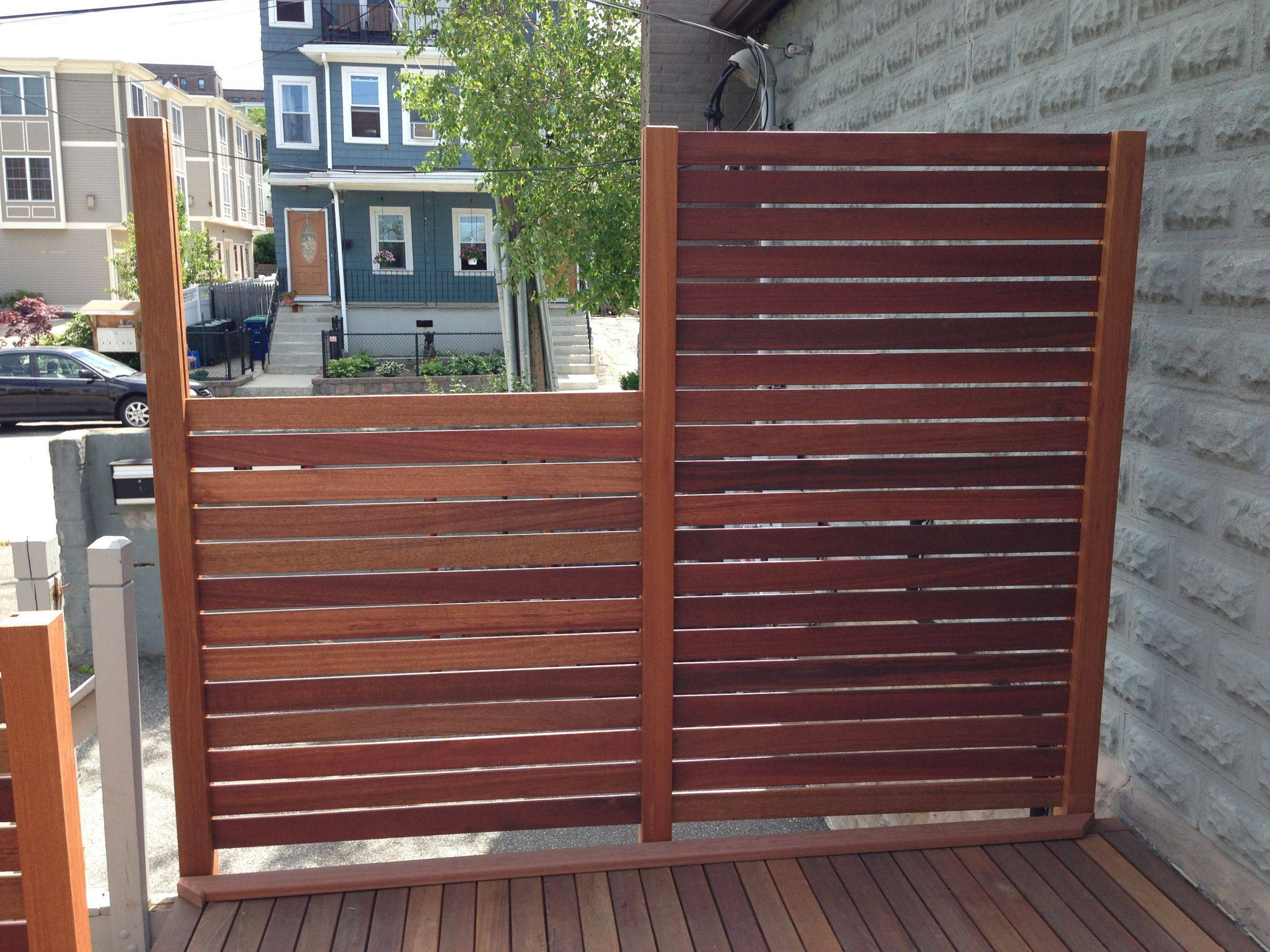 Decking Panels How Was This Deck Fence Panel Built Home Improvement Stack Exchange