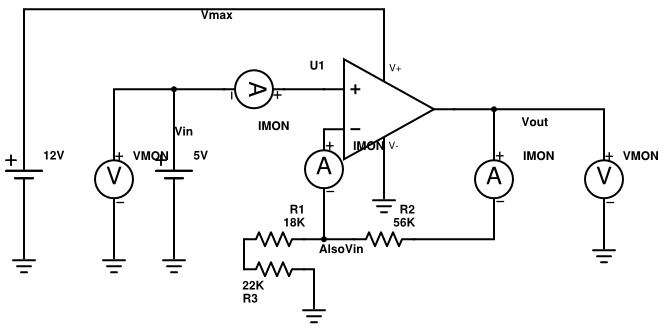 15 volt battery tester circuit using lm324