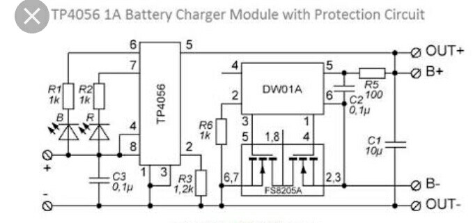 power supply - Lithium ion battery protection IC not able to drive