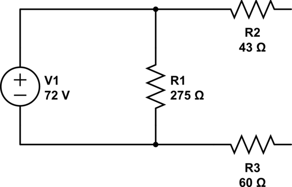 equivalent resistance for parallel circuits