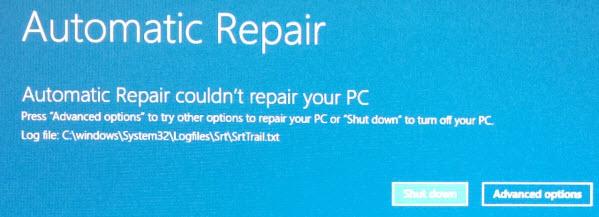 boot - Windows 81 Repair Loop Won\u0027t Recognize Win Install or Fix - windows repair install