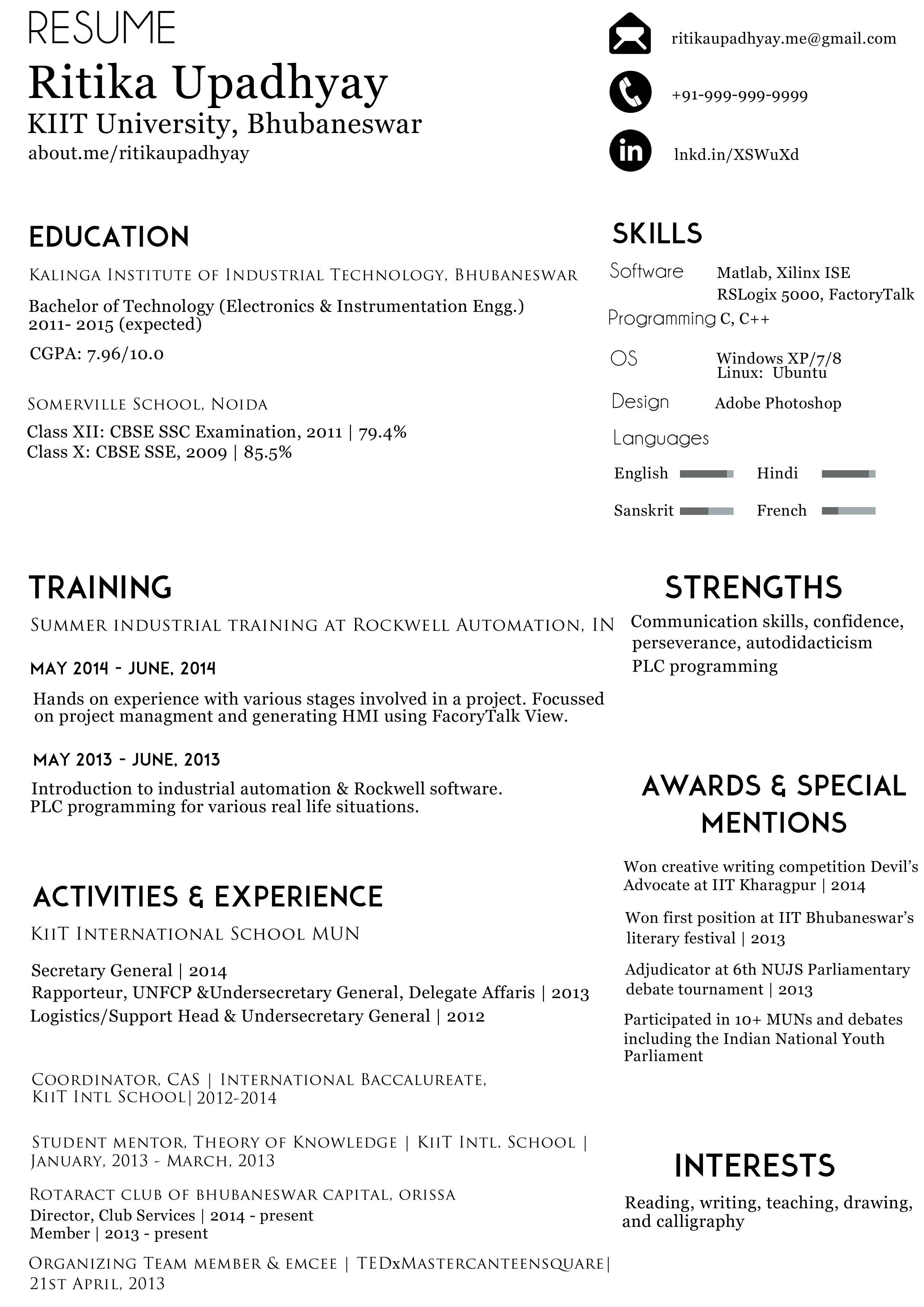 How do I write my resume?