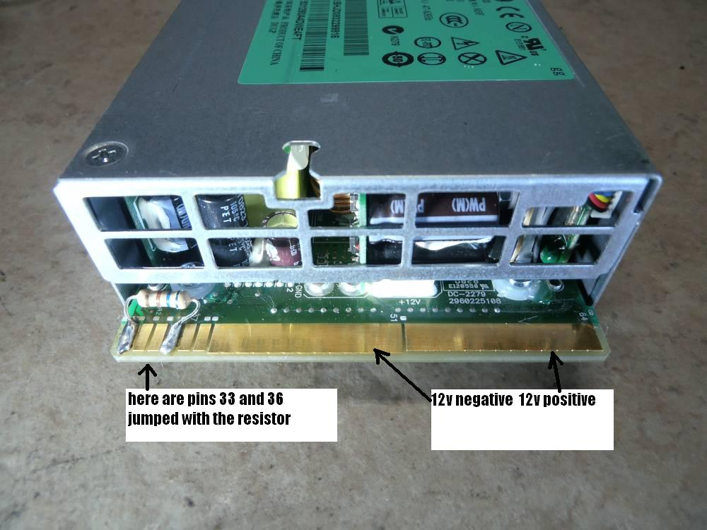 power supply - Converting a DPS800 server PSU into a standalone 12V