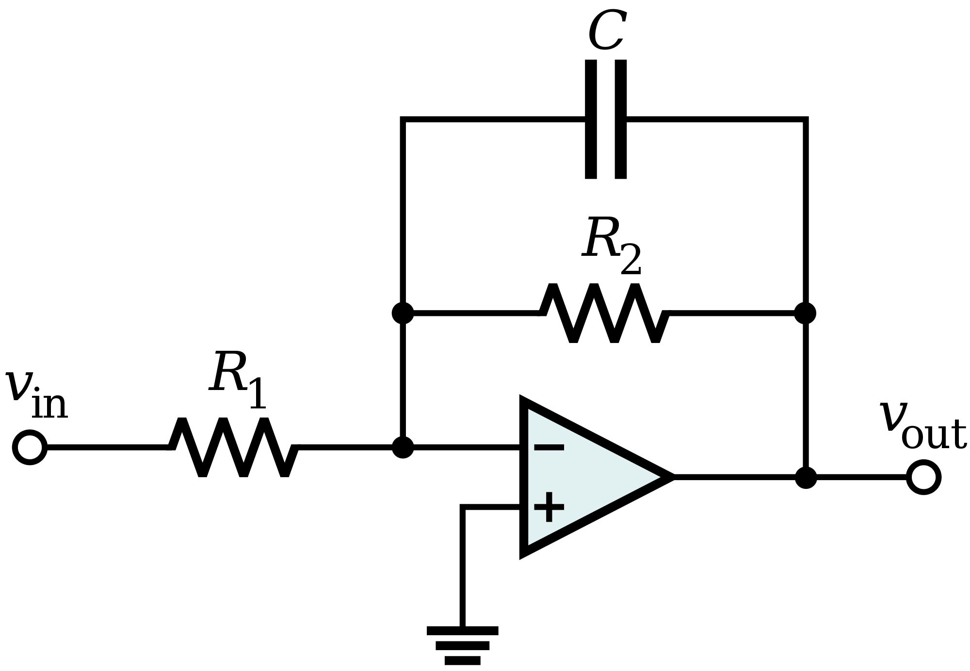 low pass filter circuit design