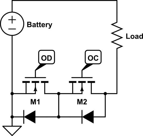 mosfet protection circuit