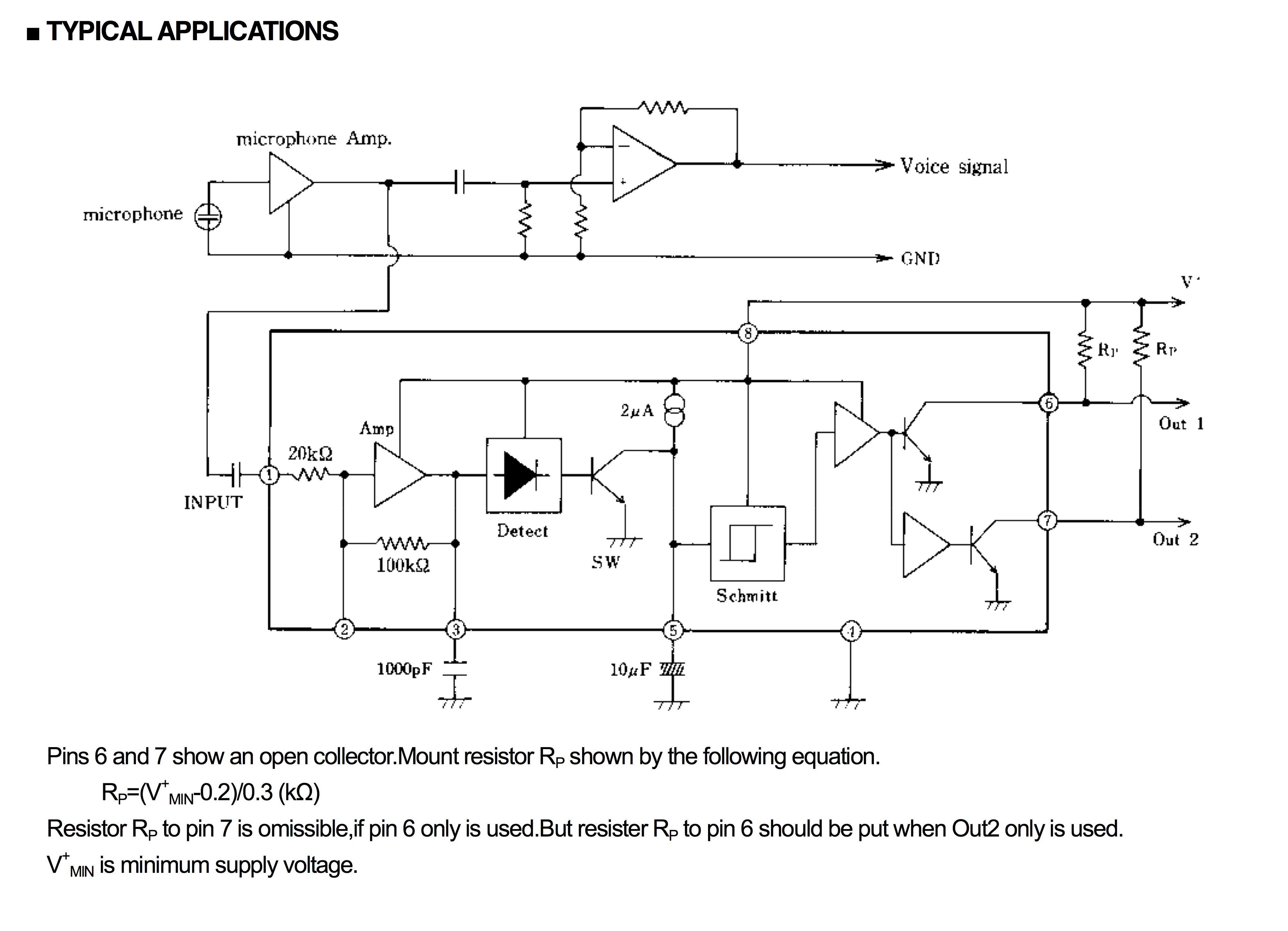 Speaker Symbol Circuit Switches Njm2072d Application Questions For Audio