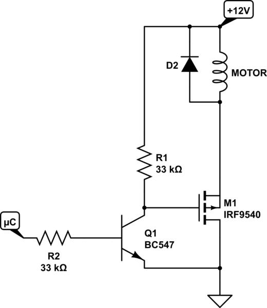 pwm solenoid valve fet