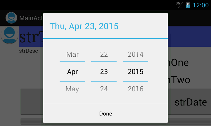 What New Google Calendar Google Android Datepicker Always Show Date Month Year Spinner