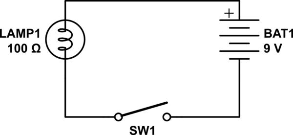 light bulb attenuator schematic