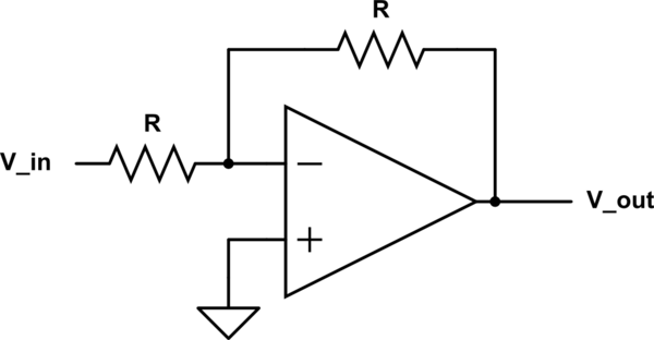 op amp voltage follower circuit