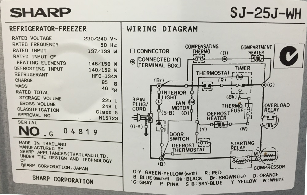 Wiring Diagram For Freezer Wiring Diagram