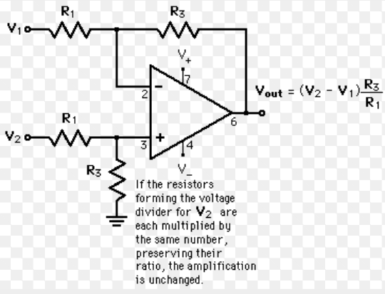 1000 1 voltage divider schematic
