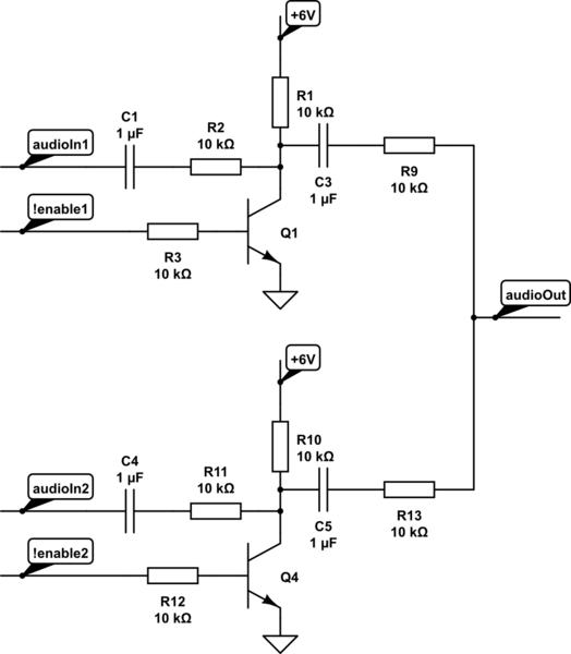 muting switch diagram