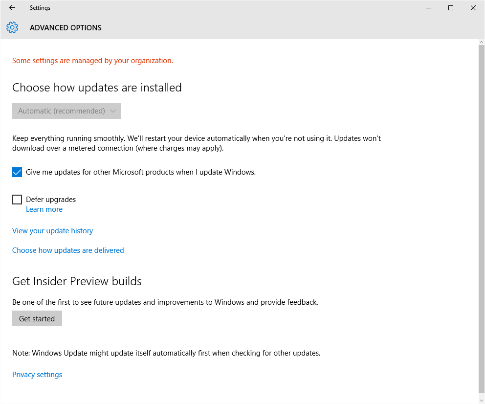 Microsoft Products Can Windows Update Be Configured To Also Update Other Microsoft