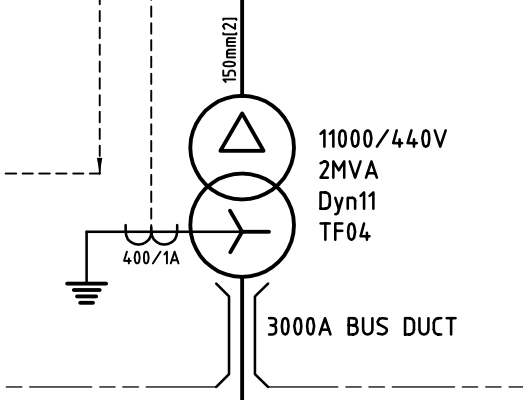 bus symbol schematics what does this symbol indicate line with