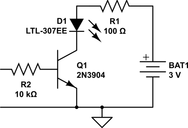 led bias circuit dc ac