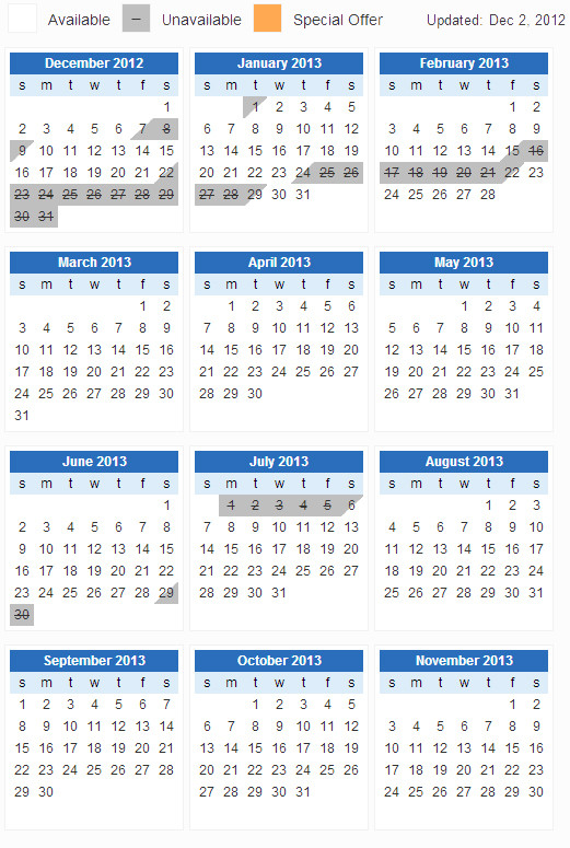 jquery - Full year view calendar? - Stack Overflow