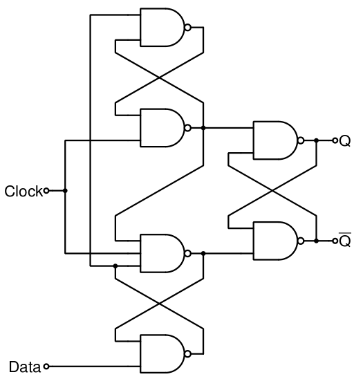 flip flop led circuit circuit schematic electronics