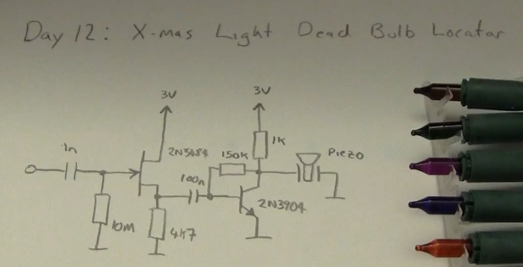 led - How to find a faulty bulb in a Christmas lights string