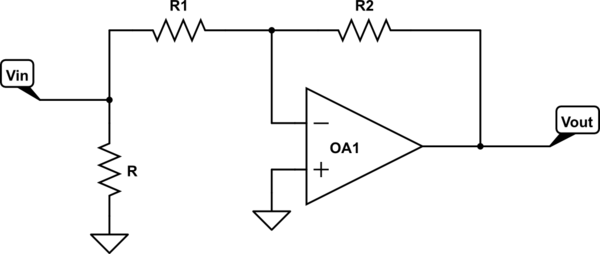 noninverting voltage follower circuit