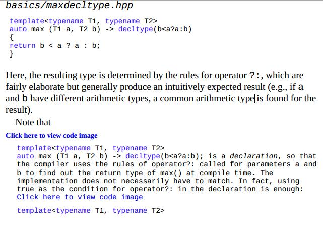 Do the following two declarations involving automatic return type