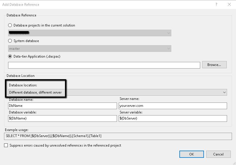 ssdt dacpac resume sample