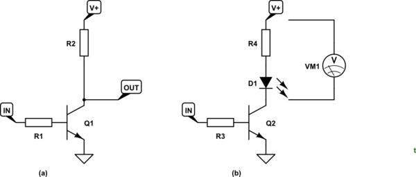 circuitlab common emitter bjt amplifier