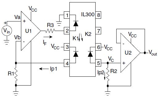 optocoupler circuit top