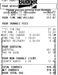 """united states - """"Taxes"""" charged on car rental bill -- are ..."""