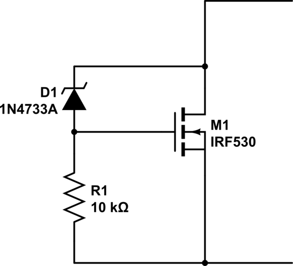 how to make a voltage regulator circuit