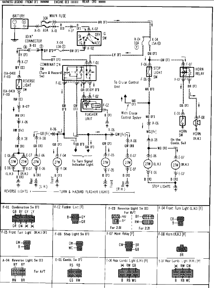 1987 mazda b2600 wiring diagram