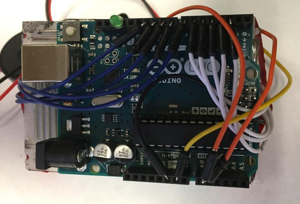 arduino uno - Coding or Wiring? Dual Piezo sensor not triggering LED