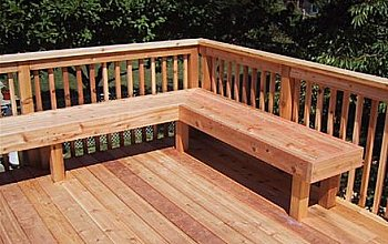 Wood How Do I Build A Corner Bench For My Deck Home