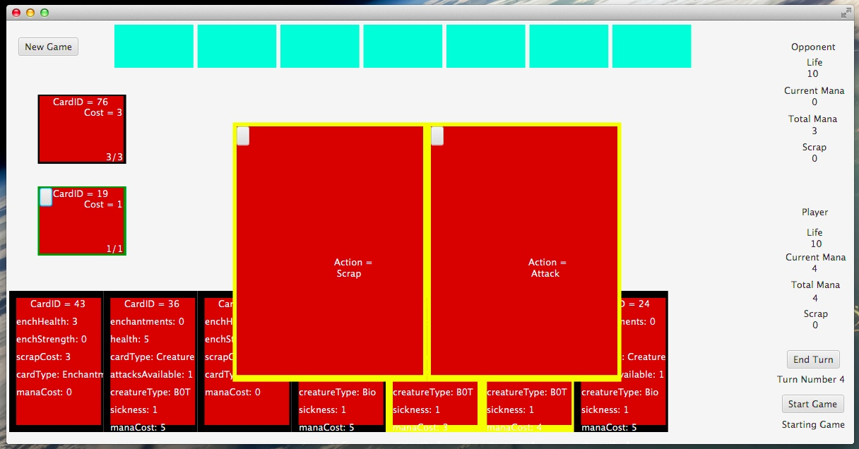 java - Trading Card Game Prototype GUI with JavaFX - Code Review