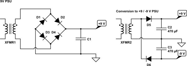 circuitlab electronics dc power supply