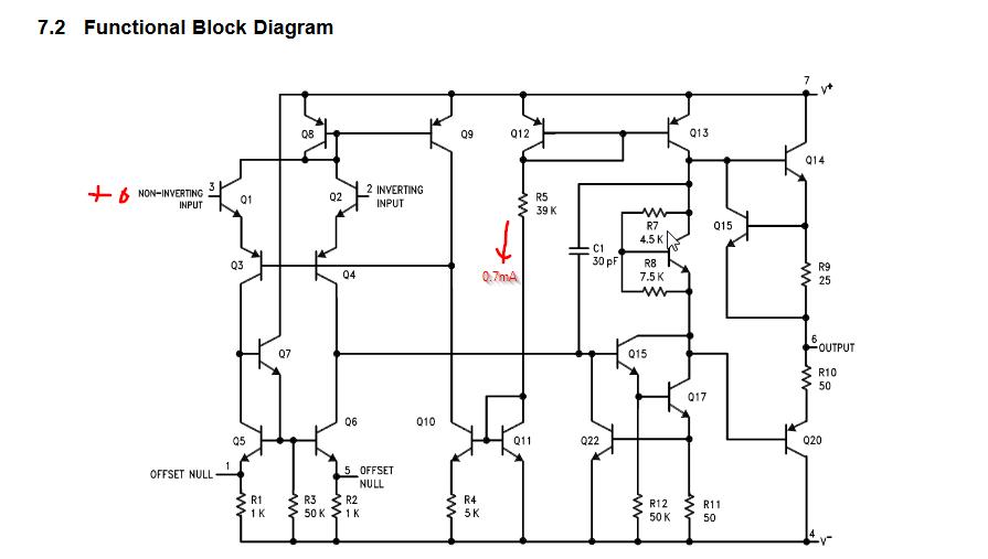 schmitt trigger circuit using ic ua 741