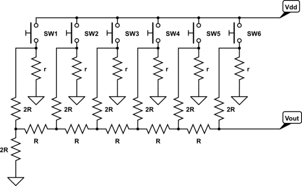 circuitlab vga resistor dac