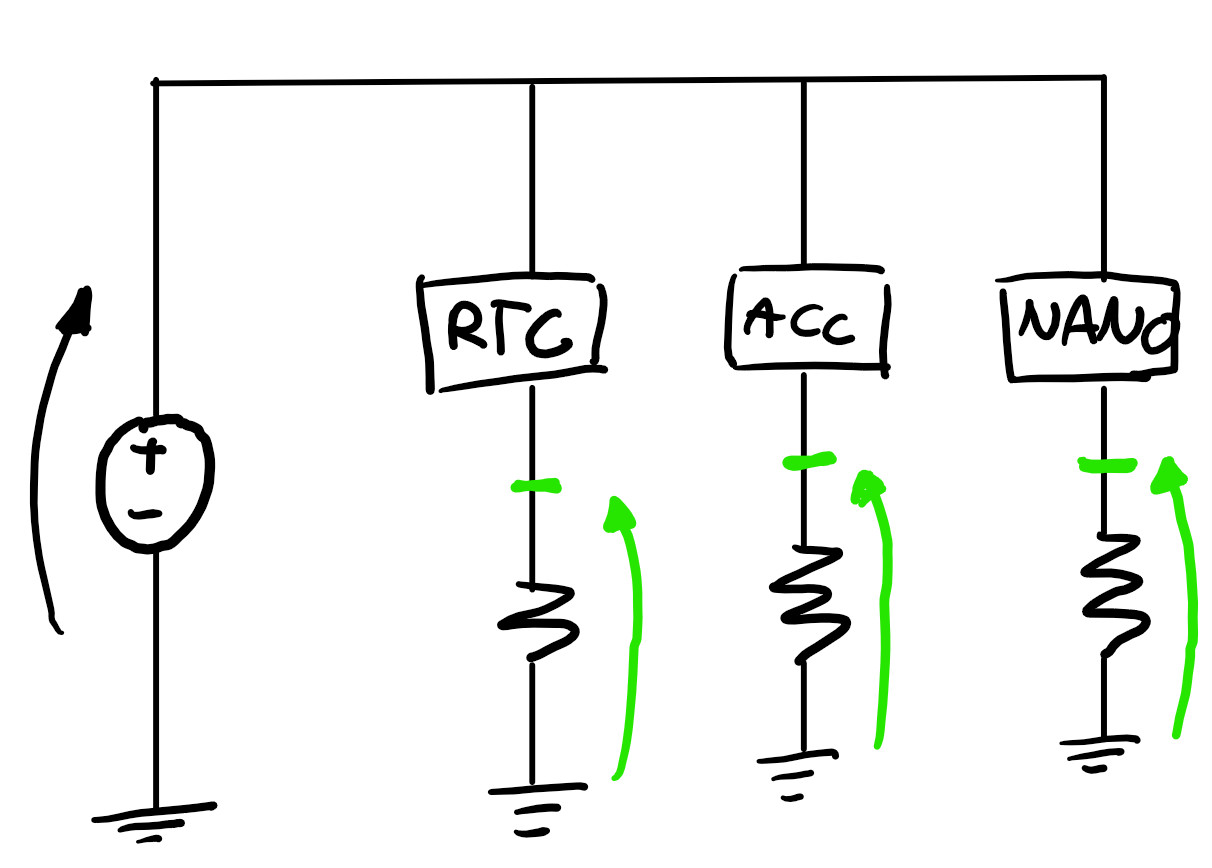 how to measure power consumption of a circuit