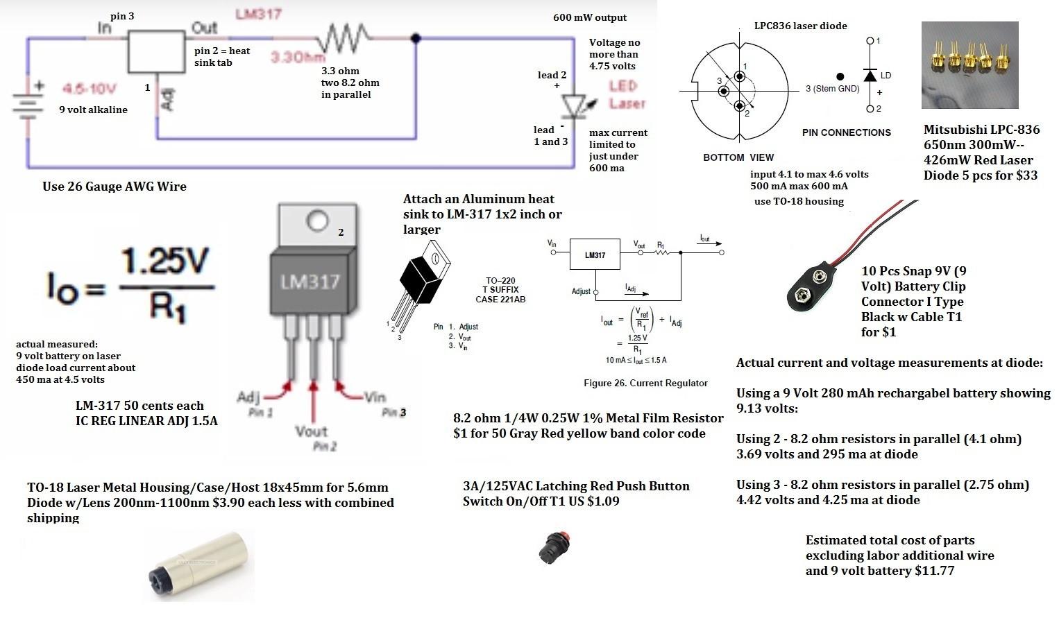 dvd laser diode wiring diagram
