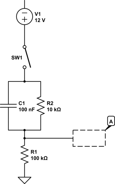 contact bounce simple debounce rc circuit question electrical