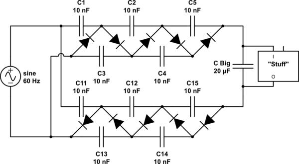voltage multiplier schematic