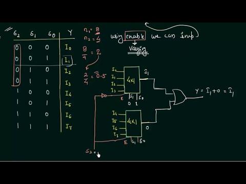 digital logic - Block diagram of 161 MUX using four 41 MUX only