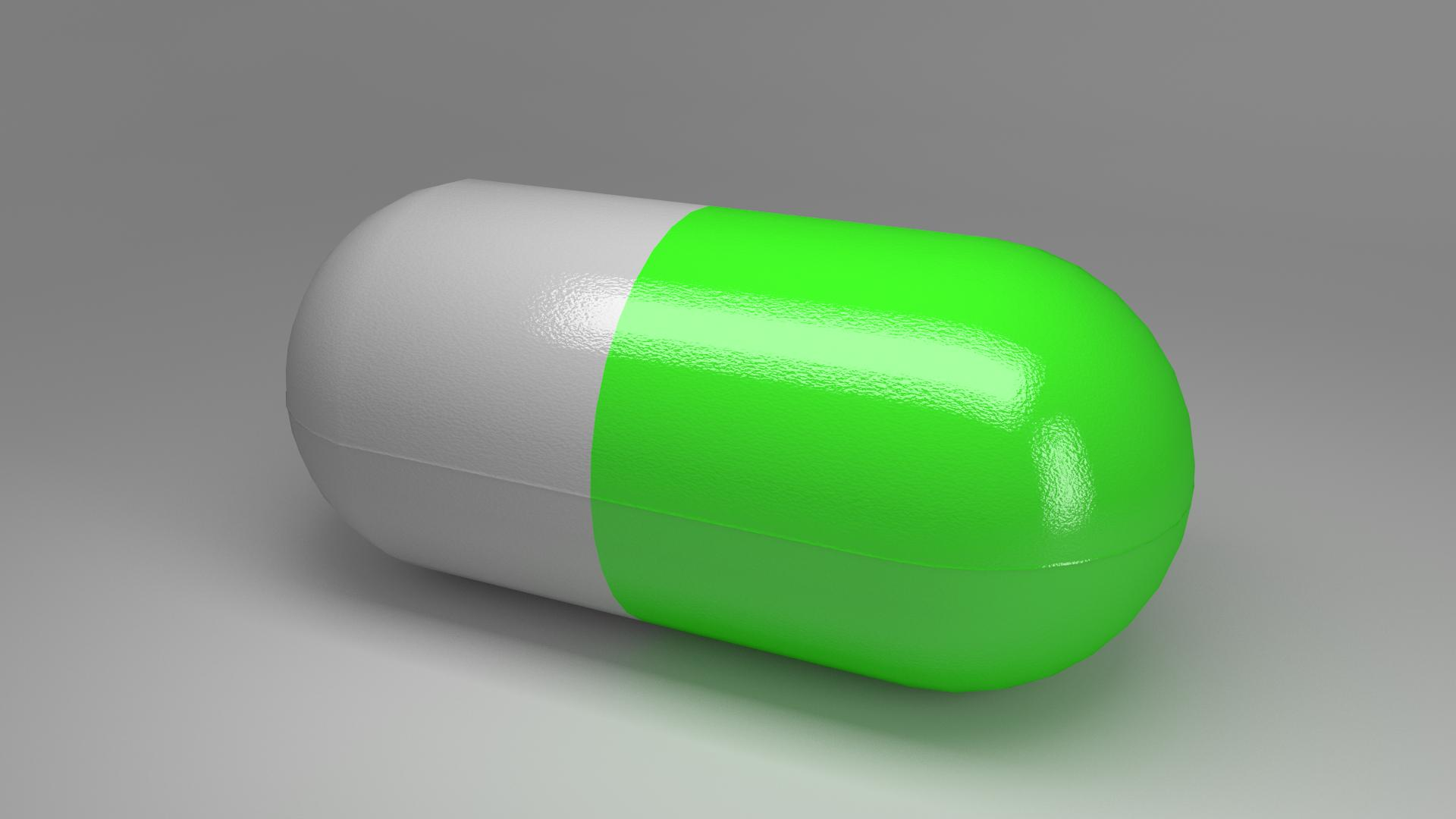 Modeling How Can I Make A Pill Shape Capsule