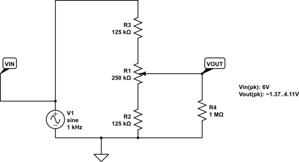 how to use variable resistors build circuit
