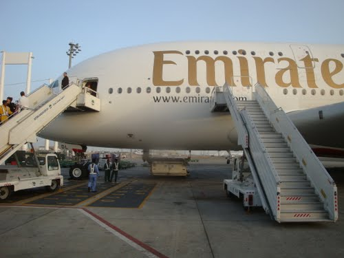 Air Travel Where Can I Board An Airbus 380 Using Stairs