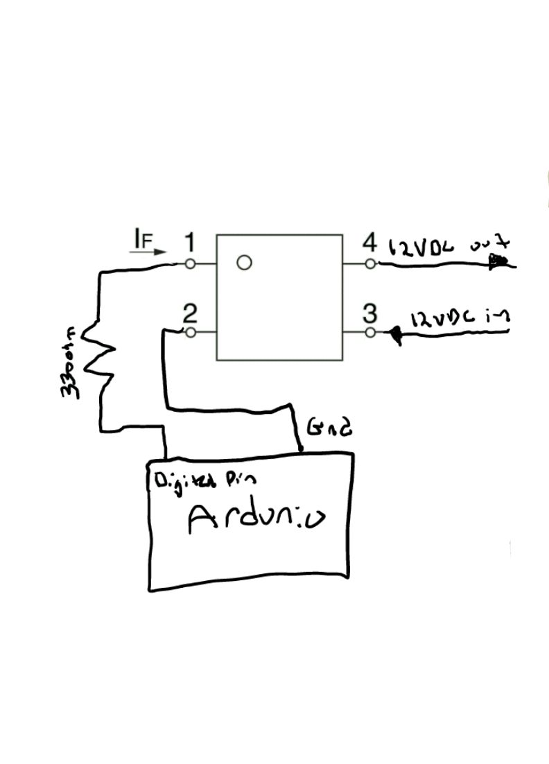 solid state relay arduino schematic