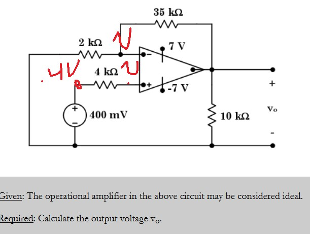 op amp circuit nodal voltage electrical engineering stack exchange
