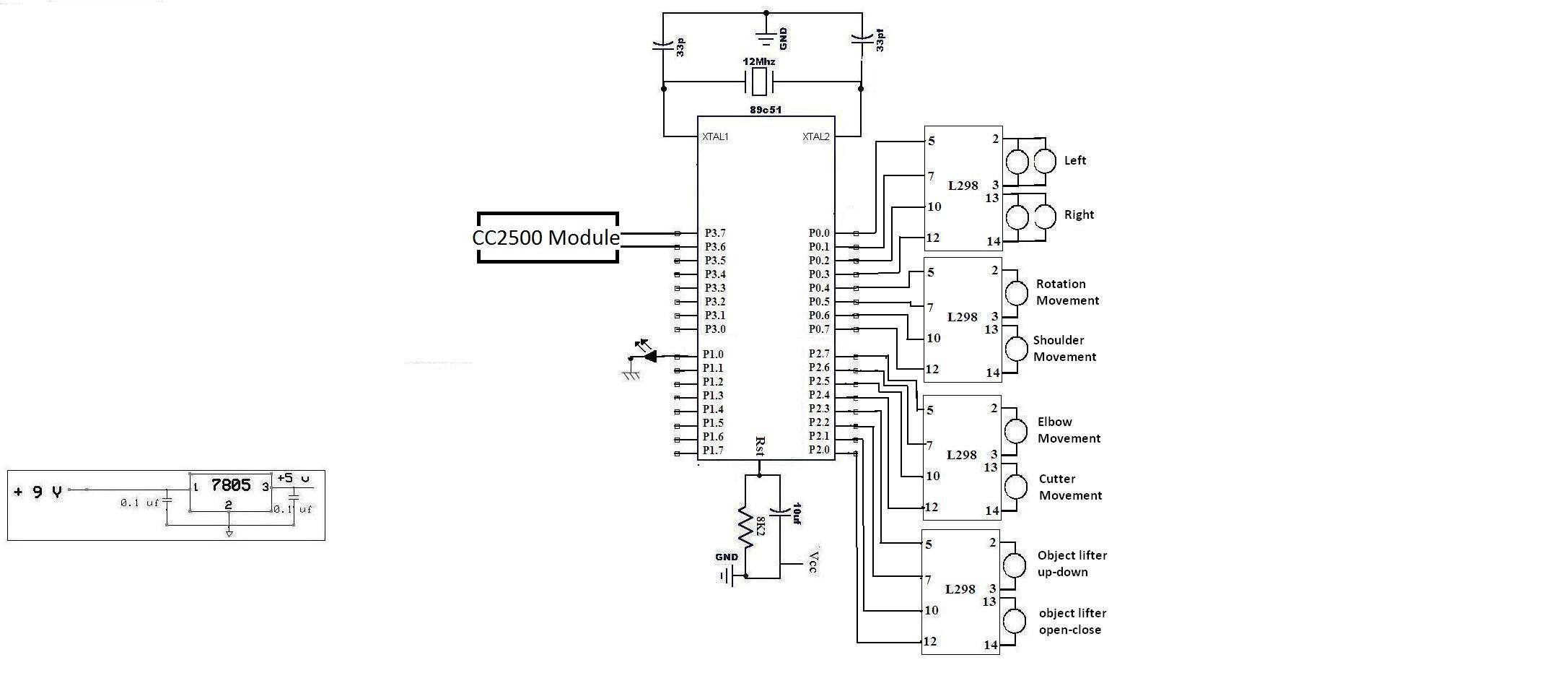electronics how do we make our robot work robotics stack exchange